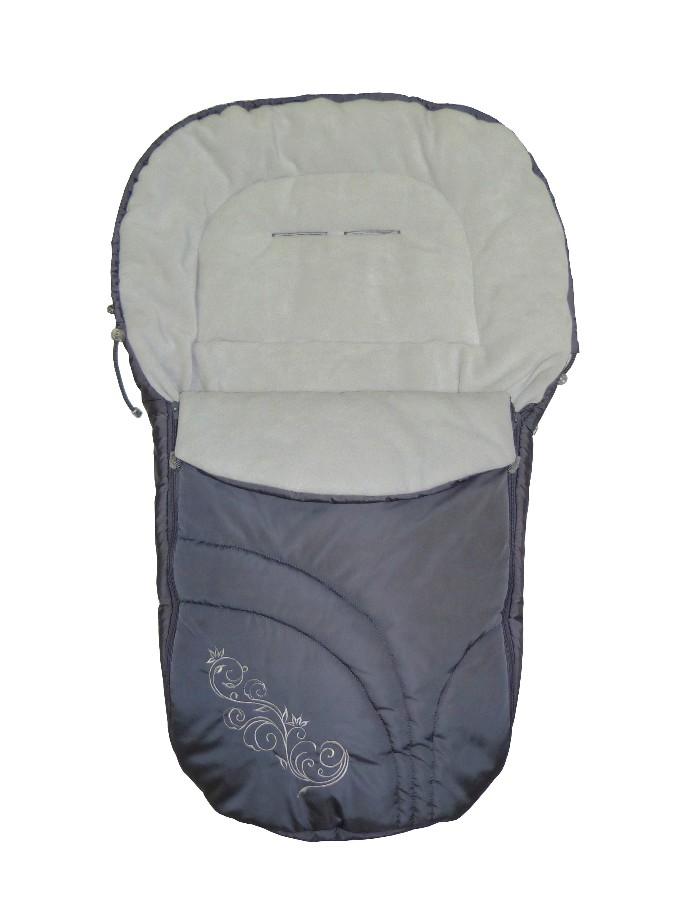 Теплый флисовый конверт для всех типов детских колясок,  конверт фирмы  Baby Breeze - Беби Бриз, конверт для новорожденных, дополнительный утеплитель в прогулочную коляску, конверт детский теплый,