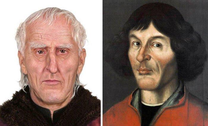9. Николай Коперник воссоздание, известные люди, история, лицо, люди прошлого, облик, реконструкции, реконструкция